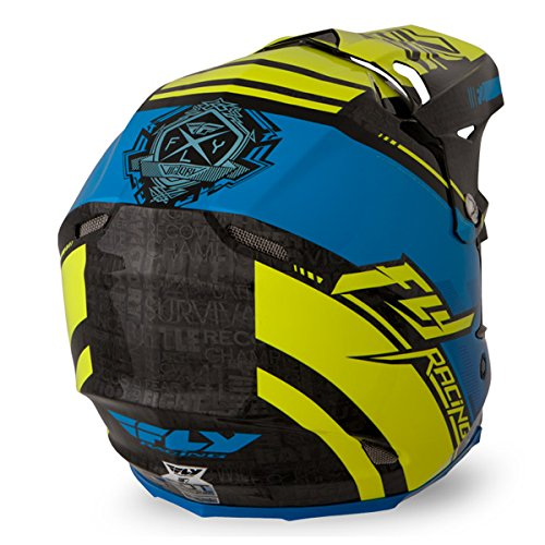 Amazon.com: Fly Racing 73-40932X F2 Carbon Trey Canard Helmet: Automotive