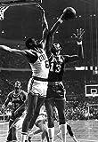 Wilt Chamberlain vs Bill Russell Poster, Lakers, Celtics, Basketball, Hoops, NBA