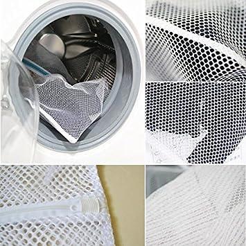 2 Pcs Filets de Lavage Proteger Les Vetements a Laver en Machine DoGeek Noir Sac a Linge Filet Linge