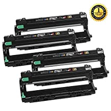 1 Set of 4 SaveOnMany ® DR-221CL DR221CL Drum Unit Set BK/C/M/Y - Black Cyan Magenta Yellow New Compatible For Brother DCP-9020CDN HL-3140CW HL-3150CDN HL-3170CDW HL-3180CDW MFC-9130CW MFC-9330CDW MFC-9340CDW Printers (uses with TN221 TN-221 TN225 TN-225 Ink Cartridge) ~ each 15,000 Pages Yeild
