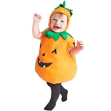 Plump Toddler Pumpkin Costume Size Toddler 2-3T  sc 1 st  Amazon.com & Amazon.com: Plump Toddler Pumpkin Costume Size Toddler 2-3T: Clothing