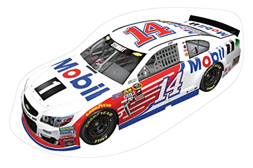 NASCAR #14 Tony Stewart Large Car Decal-NASCAR Peel & Stick Car Wall Decal-NEW for 2016! (Wall Tony Stewart)