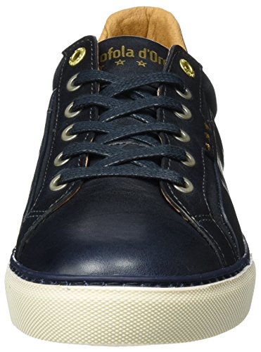 Low 41 29y Baskets Dress Homme Uomo Bleu Cognac EU Blues Levigno d'Oro Pantofola nqUw6Bt06