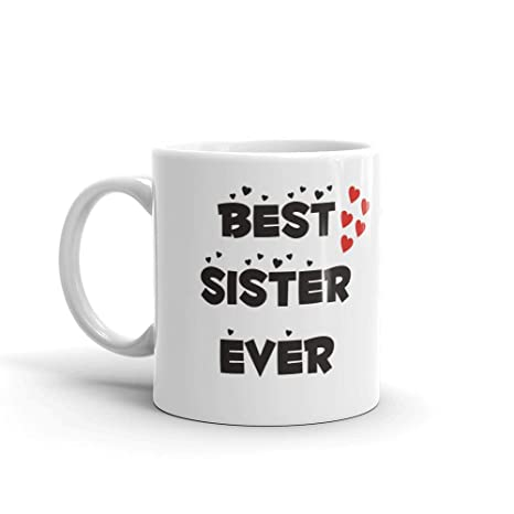 Buy Family Shoping Birthday Gifts For Sister Bhaidooj Best Ever Coffee Cup Tea Mug Online At Low Prices In India