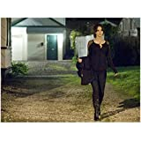Silver Linings Playbook Jennifer Lawrence as Tiffany Walking Outside in Black 8 x 10 Inch Photo