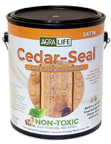 - TriCoPolymer VOC Free Non Toxic, Clear Satin Cedar