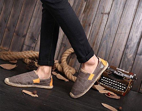 Caf D't Toile Chaussures En Hommes Pour Glissire fqxC6