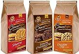Gluten-free, 100% Vegan - (Total of 36 Cookies, Variety Pack of 3)