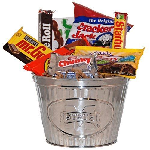 Mississippi State Snack Bucket Gift Basket