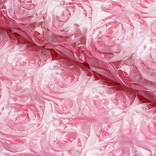 - Mikash 54x4 Yards Grandiose Rosette Fabric Bolt DIY Wedding Party Decor 15+ Colors! | Model WDDNGDCRTN - 22061 |