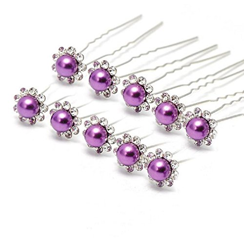 Various Chic Flowers Crystals Hair Pins for Brides/Bridesmai