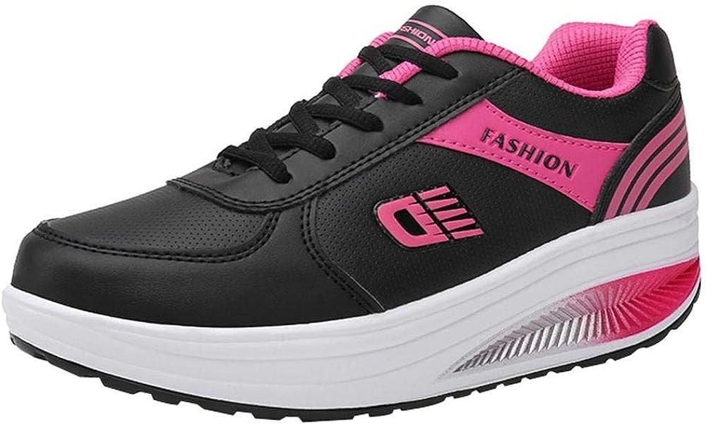 Yesmile Zapatos de mujer❤️Zapatos Mujeres de la moda que levantan las zapatillas de deporte de la parte posterior suave Zapatillas de deporte Runing de los estudiantes