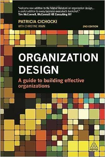 Organization design.