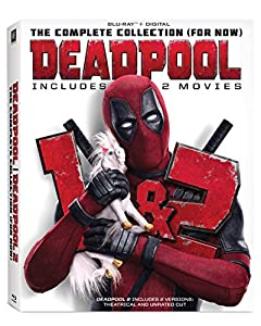 Cover Image for 'Deadpool: The Complete Collection (For Now) [Blu-ray + Digital]'