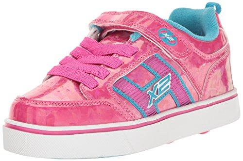 Heelys X2 Bolt Plus, Zapatillas Unisex Niños Varios colores (Hot Pinkhologram /   Neon Blue)