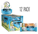 Bobo's Oat Bars Original, 12 Pack of 3 oz Bars Gluten Free Whole Grain Rolled Oat Bar - Great Tasting Vegan On-The-Go Snack, Made in the USA