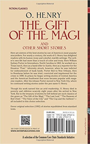 The gift of the magi short story summary