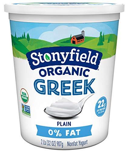 Stonyfield Organic Greek 0% Plain 32oz