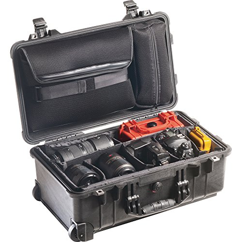 Pelican 1510 Laptop Overnight Case With Padded Dividers ()