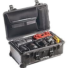 Pelican Products 1510-007-110 Medium Studio Case 1510LOC with Padded Dividers (Black)