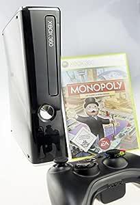 XBOX 360 (Slim Klavierlack) mit Monopoly: Amazon.es: Videojuegos