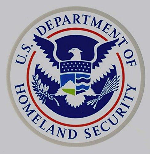 Homeland Security Seal - Homeland Security Seal Decal Sticker