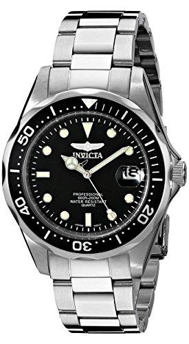 Invicta Men's 8932 Pro Diver Collection Silver-Tone (Invicta Men Diver Watch)
