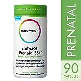 Rainbow Light - Embrace Prenatal 35+ Multivitamin, 90 Count, Zinc & Vitamin C - 51KImhA3F2L - Rainbow Light – Embrace Prenatal 35+ Multivitamin, 90 Count, Zinc & Vitamin C