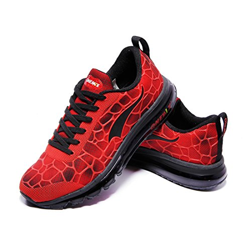And da Air Athletic Red Women Scarpe Fitness Onemix per Max Running corsa camminare Cushion Sneaker Sneakers Men Black Sport w5p1qS