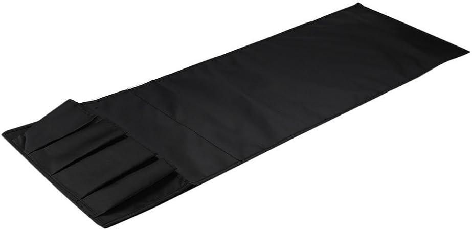 Canap/é canap/é Chaise Accoudoir Caddy Organisateur de poche Sac de rangement Multipoches pour livres T/él/éphones T/él/écommande Noir