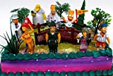 SIMPSONS 14 Piece Birthday CAKE Topper Set Featuring Simpsons Figures and Decorative Themed Accessories - Figures Average 3