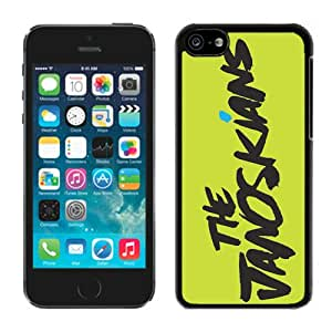 Case For iPhone 5C,janoskians Logo Black iPhone 5C Case Cover