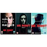 Mr Robot Season 1-3 Complete DVD Collection + Bonus Features + Deleted Scenes + Gag Reel + Mr Robot S3 A World Divided + The Visual Style of Mr Robot + Through the Lens of Episode 3.4