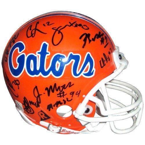 2006 Florida Gators National Championship Team Autographed (Gators) Mini Helmet