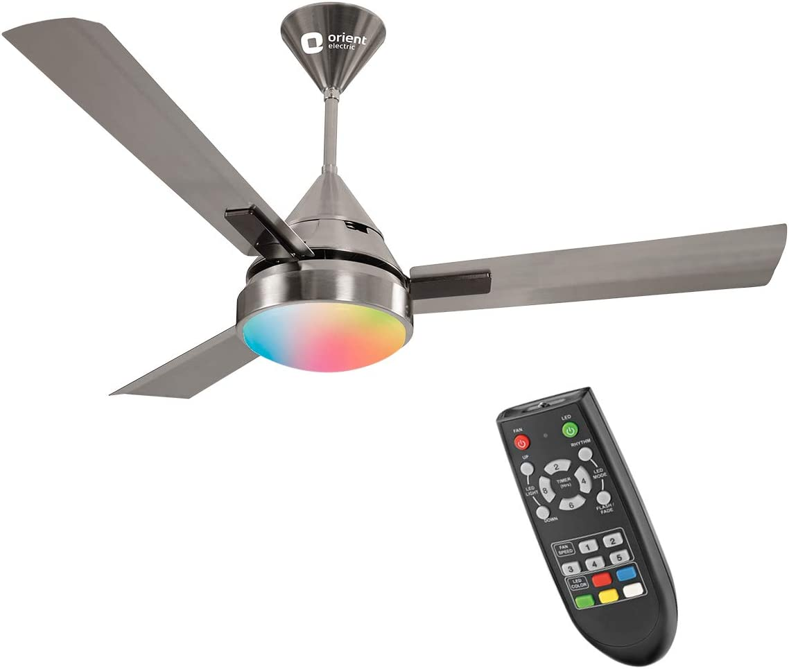 Orient Electric Spectra Under Light Ceiling Fan