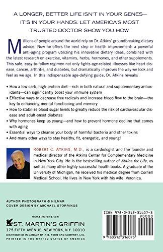 51KIoVghiyL - Dr. Atkins' Age-Defying Diet