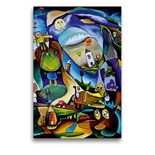 CALVENDO Art Toile en Textile de qualité supérieure 50 cm x 75 cm