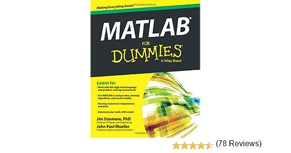 MATLAB For Dummies: Amazon.es: Sizemore, Jim: Libros en idiomas extranjeros