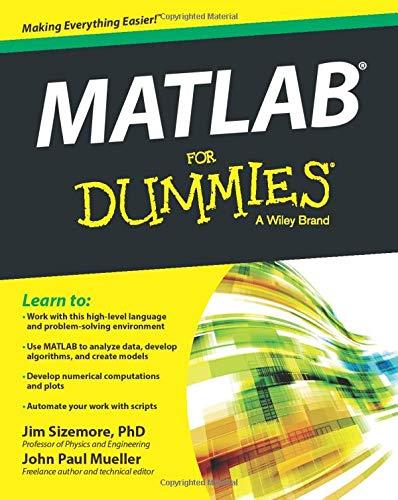 MATLAB For Dummies: Amazon.es: Sizemore, Jim: Libros en idiomas ...