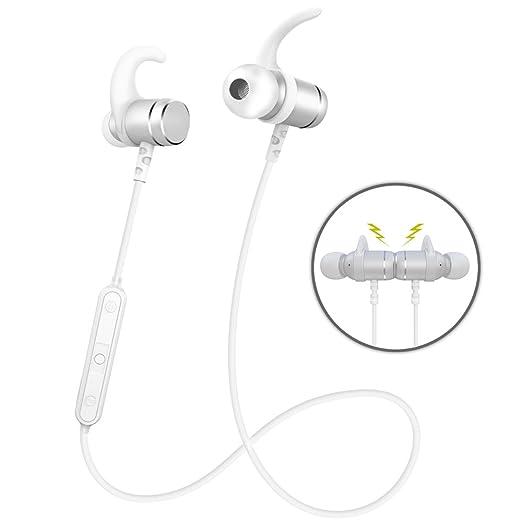 186 opinioni per Auricolari Wireless Cuffie Bluetooth 4.1 Sporive con Design Magnetiche