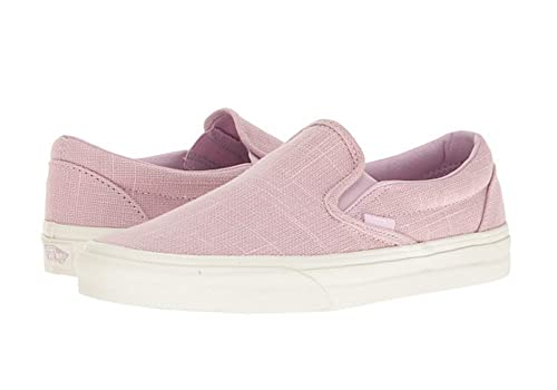 ce71e3831d Vans Classic Slip On Hemp Linen Windsome Orchid Sneakers (7.5 Mens 9  Womens)  Amazon.ca  Shoes   Handbags