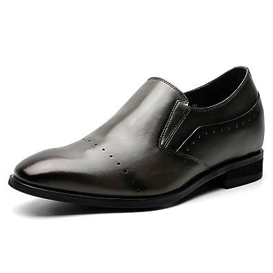 66f6ebe3136e8 CHAMARIPA(JP) 底上げ靴 シークレットシューズ 7cmUP 背が高くなる 本革 メンズ