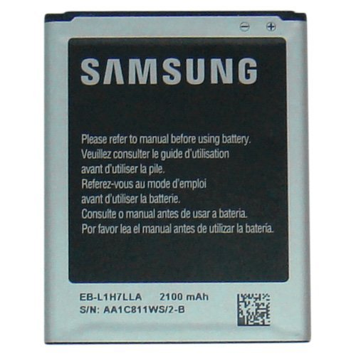 Victory Replacement Battery - Samsung OEM Standard Battery EB-L1H7LLA EBL1H7LLA for SPH-L300 Virgin Mobile SCH-R830 US Cellular Sprint Original - Non Retail Packaging - Black