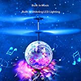 AutumnFall-Kids-Toy-RC-Flying-Ball-Infrared-Induction-Drone-Helicopter-Ball-Built-in-Shinning-LED-Lighting-with-Remote-Switch-Control-for-Kids-Teenagers-Built-in-Disco-Music