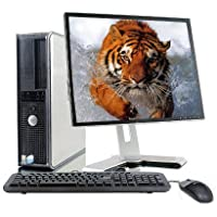 Dell optiplex Fast Intel P 3.0GHz/ 2GB Ram/ 80GB HDD/ DVD Player/ Restore CD/ NEW USB Keyboard and Desktop/ 19 LCD Monitor(Brands may vary)-(Certified Reconditioned)
