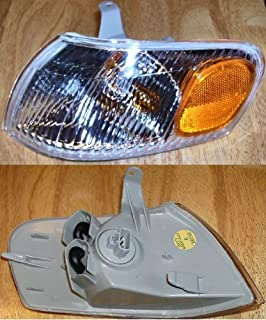 Left Front -- Turn Signal Lamp Light SEDAN replaces OEM 8152002040 Interchange 116-58640L