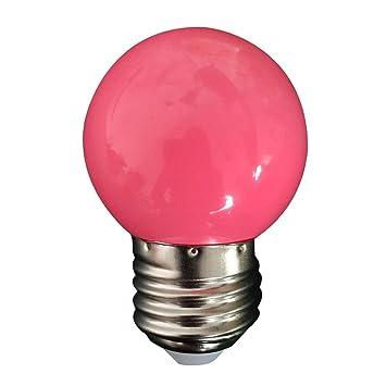 gaddrt E27 LED bombilla, ahorro de energía lámpara de luz bombilla, bombillas incandescentes para decorar casa, rosa: Amazon.es: Deportes y aire libre