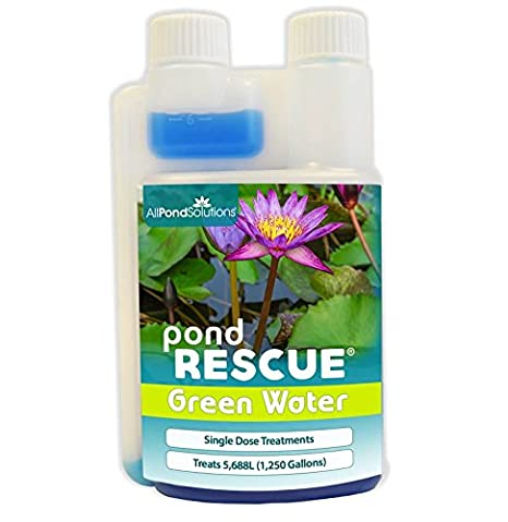 All Pond Solutions Rescue Green Water Pond Water Treatment, 2500 ml PR-GREEN-2.5L