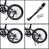 "BESTCAN Bicycle Kickstand,Adjustable Aluminum Alloy Bike Kickstand for22""24""26""28""Mountain Bike/Road Bicycle/BMX/MTB/City Commuter Bike/Kids Bike/Sports Bike/Adult Bike"