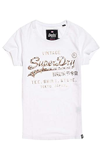 aacb0fedf79cd Superdry Women s Shirt Shop Infill Emboss Entry Kniited Tank Top   Amazon.co.uk  Clothing